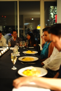 Happy Supper Club diners